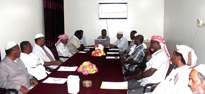 فرع جمعية الإصلاح  بوادي حضرموت يعقد اجتماعا دوريا للجانه ومراكزه التطوعية