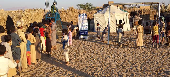 بتمويل من منظمة OCHA المركز الاجتماعي للنازحين ينفذ العديد من الأنشطة في مجال الحماية العامة في محافظة الجوف