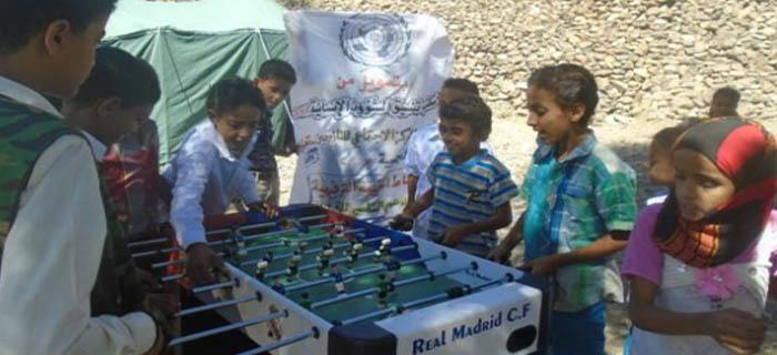 بتمويل من منظمة OCHA المركز الاجتماعي للنازحين ينفذ العديد من الأنشطة في مجال الحماية العامة في محافظة تعز