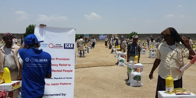 Humanitarian aid for conflict-affected population in Taiz and Hajjah governorates